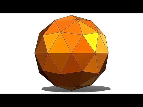 SolidWorks Tutorial #328 : Geodesic ball /dome