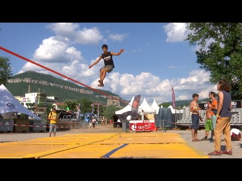Natural Games - Slackline freestyle (Jumpline)