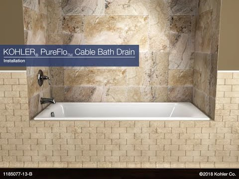 Installation and Product Overview - PureFlo Cable Bath Drain