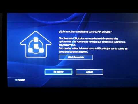 [Tutorial] Creación de un usuario en PlayStation 4 (PS4) y crear una cuenta PlayStation Network