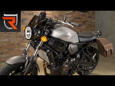 2018 Yamaha XSR700 Bolt-On Accessories Demo | Riders Domain