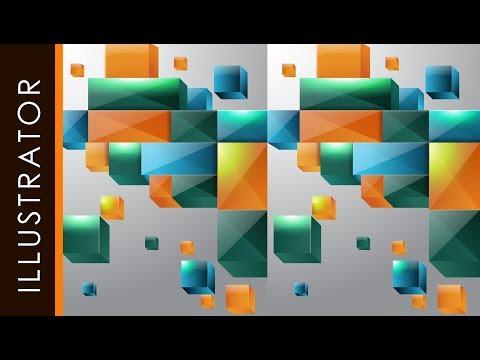 Adobe Illustrator | Tutorials | 3D Box | ColorsFull #freeDownloads