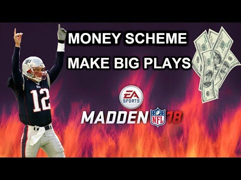CANT STOP THIS OFFENSE:: MADDEN 18 MONEY SCHEME|| PATRIOTS PLAYBOOK