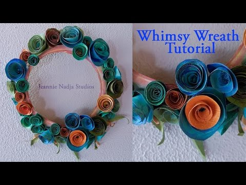 Whimsy Wreath Tutorial - DIY