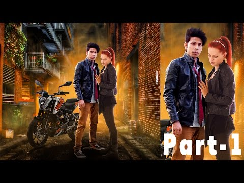 Romantic Movie Poster Design in Photoshop | Photoshop Tutorial With PSD | Photo Effects | Part-1