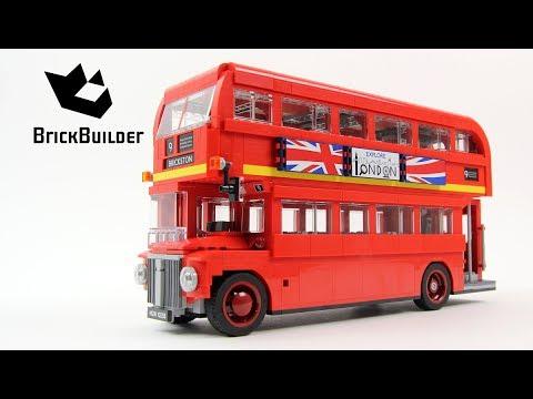 Lego Creator 10258 London Bus - Lego Speed Build