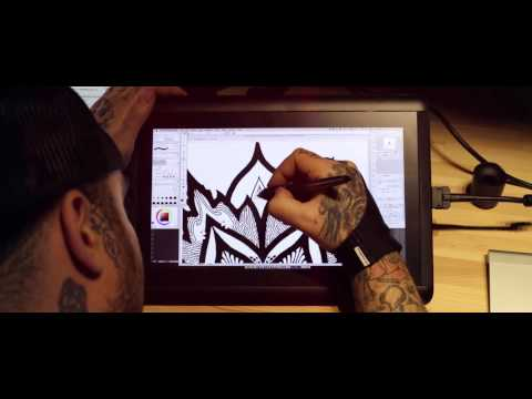Mandala Action From Cintiq To The Skin By Orge Kalodimas