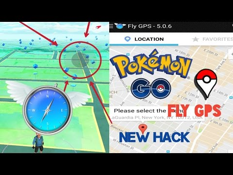 Pokémon Go - New Hack Fly GPS (Joystick Mode) || version 5.0.6 || For Android - No root (2017)