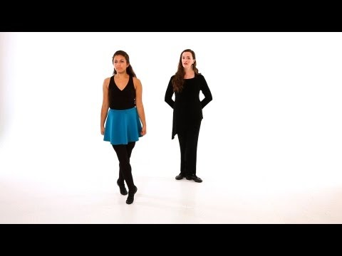 How to Do a Turn | Irish Step Dancing