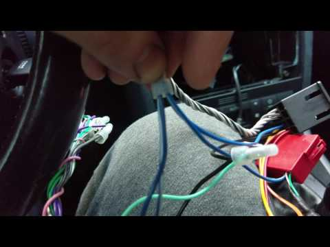 b5 audi a4 s4 radio install with fix