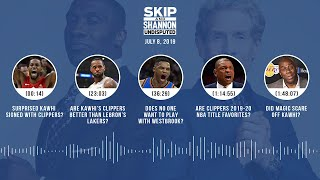 UNDISPUTED Audio Podcast (7.8.19) with Skip Bayless and Shannon Sharpe | UNDISPUTED
