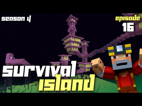Minecraft: Survival Island - Season 4 (Episode 16 - The Ender City)