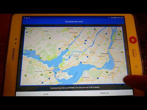 Google maps Multiple destinations Offline