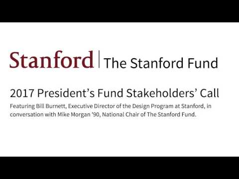 2017 Stanford President's Fund Stakeholders Call