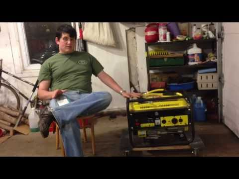 What can you run on your generator?  (What can 3500 watts do?)