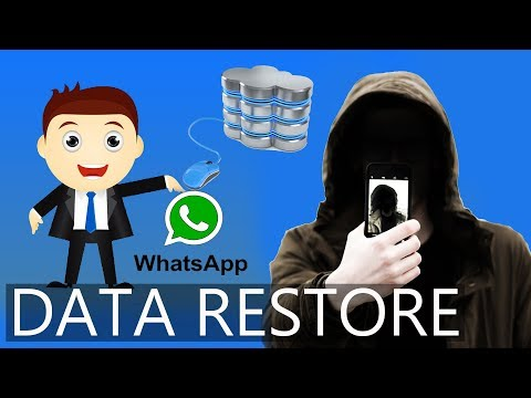 How To Recover WhatsApp Data From Your Lost SIM ||  Backup WhatsApp Data