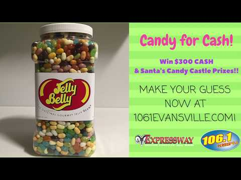 Candy for Cash - Guess the Number of Jelly Beans