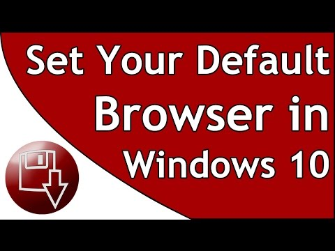 How to change your default browser in Windows 10