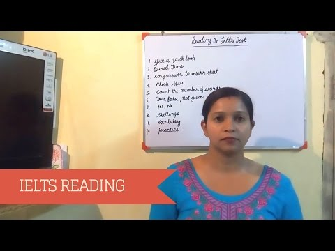 IELTS Reading Tips & Tricks – How to get a High Score [ Hindi ]