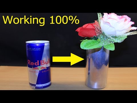 Trick To Remove Ink From Red Bull Can   [100% Working]