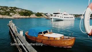 Boat trip in Gothenburg Archipelago, Sweden - Saltholmen, Vrångö, Styrsö
