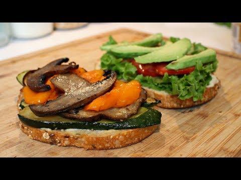 Roasted Vegetable Sandwich | Vegan Recipe
