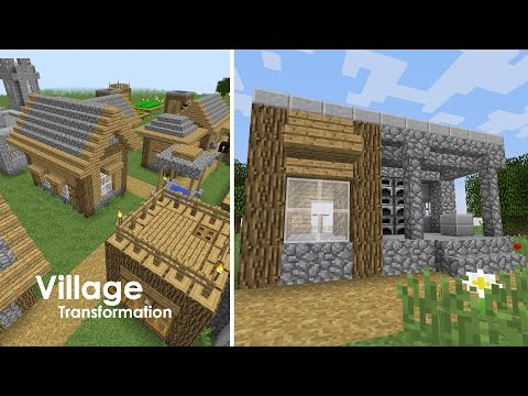 Minecraft Village Upgrade - Blacksmith