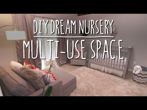 DIY nursery: Multiuse space