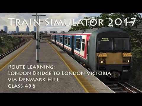 Train Simulator 2017 - Route Learning: London Bridge to London Victoria via Denmark Hill (Class 456)