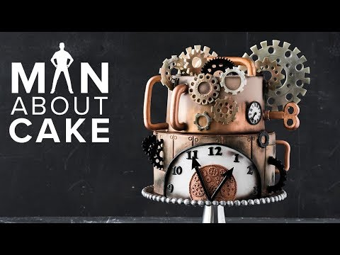 FAN-REQUESTED Steampunk Cake | Man About Cake SEASON 6 PREMIERE with Joshua John Russell