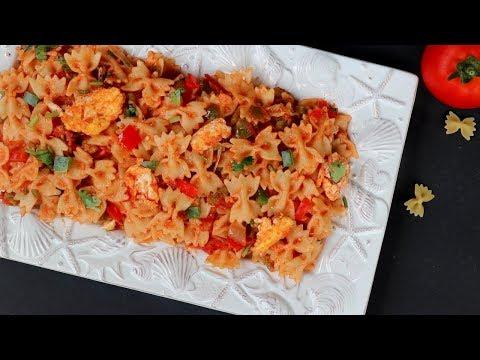 দেশি স্বাদে ঝাল মাসালা পাস্তা || Masala Pasta Recipe Bangla || How To Make Masala Pasta