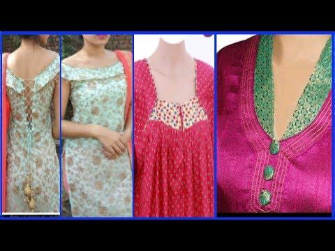 cotton lawn suit design//eid dress idea//neck sleeve latest design