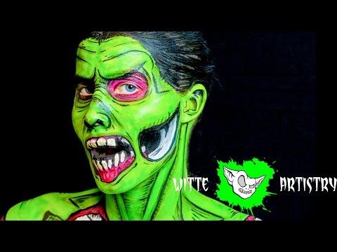 ✅Pop Art The Walking Dead Zombie Halloween Makeup Tutorial in 4K - Witte Artistry