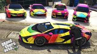 GTA 5 - Stealing MODIFIED Vehicles With Franklin! | (Real Life Cars #110)