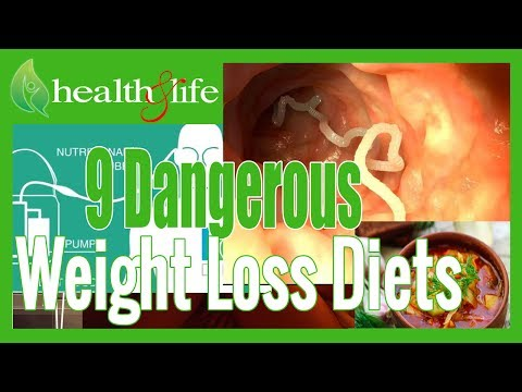 Health and Life - 9 Unhealthy even Dangerous Weight lost Diets. Weight loss