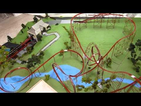 Orient Express - Worlds of Fun - Model Roller Coaster