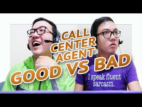 CALL CENTER AGENT | The Good vs Bad 👍👎