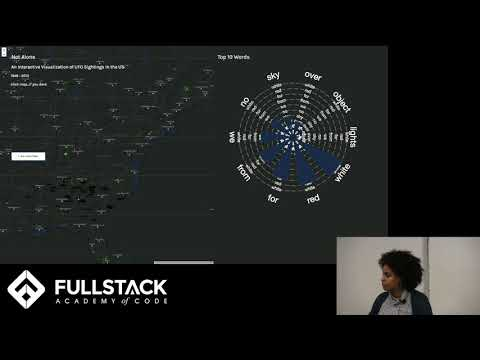 Stackathon Presentation: Not Alone: An Interactive Visualization of UFO Sightings