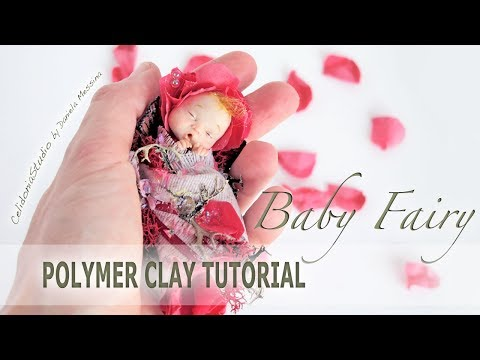 Polymer Clay Baby Fairy Tutorial