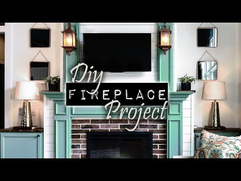 The DIY Fireplace Project   DIY & Home Design Podcast