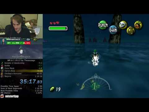 How to swim between pillars (Majora's Mask Speedrunning)