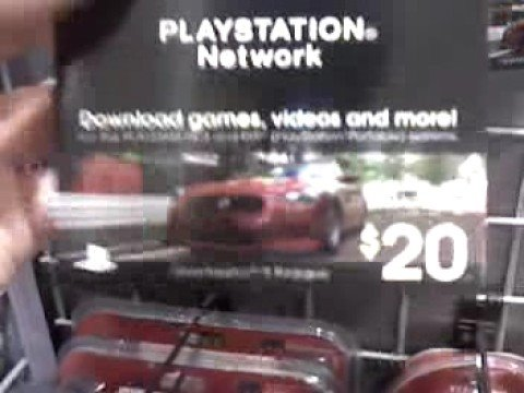 Playstation Network Cards at Best Buy