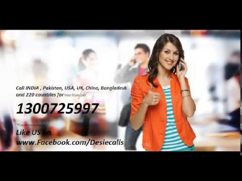 Call India Pakistan UK USA and 70 countries for free from Australia
