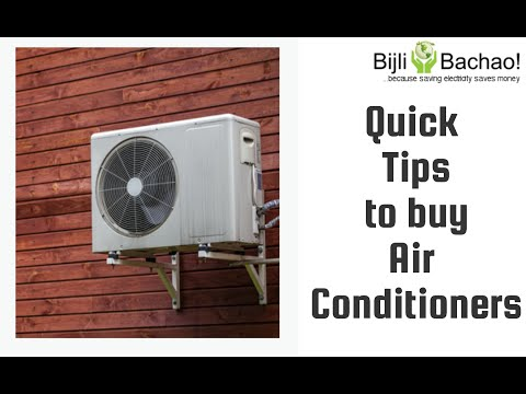 Guide To Buy The Best Air Conditioner In India