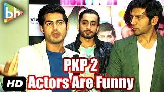 """Kartik Aaryan, Sunny Singh Nijjar, Omkar Kapoor Are So Funny"": Ishita Sharma"
