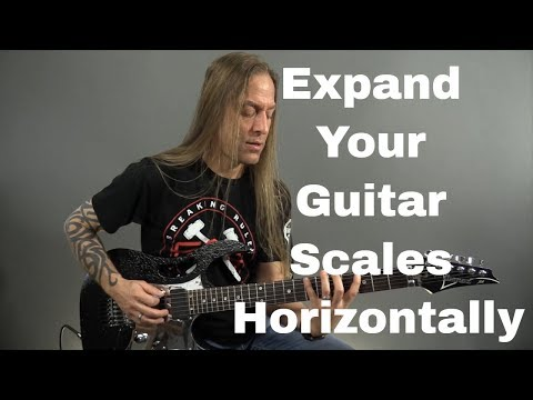 Guitar Solo Tips - Expand Your Guitar Scales Horizontally - Steve Stine Guitar Lesson
