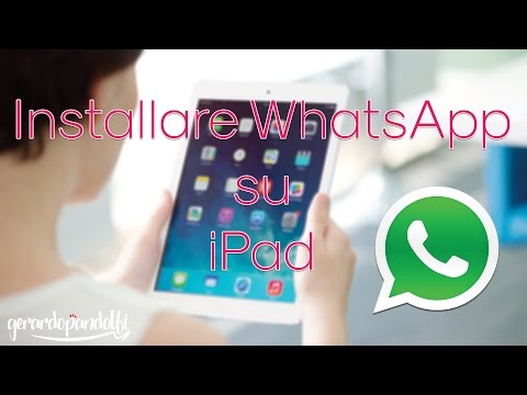 Installare WhatsApp su iPad