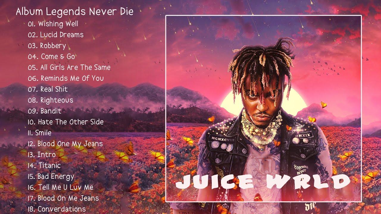 JUICEWRLD GREATEST HITS FULL ALBUM 2021 - BEST SONGS OF JUICEWRLD FULL ALBUM 2021