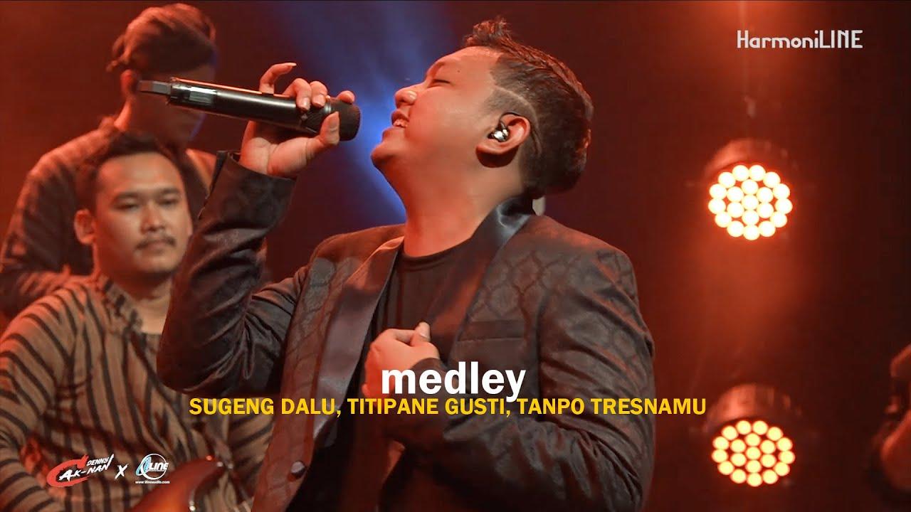 Download LIVE - MEDLEY SUGENG DALU, TITIPANE GUSTI, TANPO TRESNAMU - DENNY CAKNAN #NDUWEGAWE MP3 Gratis