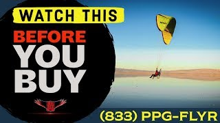 What Comes in a BlackHawk Paramotor Package Deal - WITH